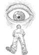 occhio e uomo