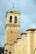 Church belfry at Soria city Castile Spain