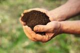 Image of soil in hands