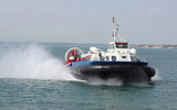 Passenger Hovercraft to the Isle of Wight