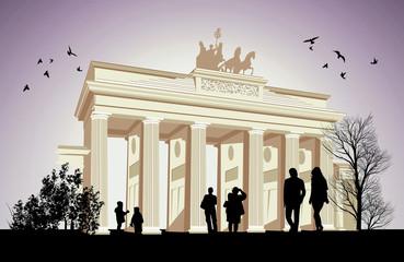 The Brandenburger Tor