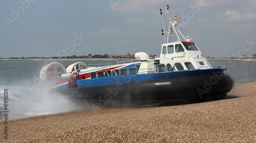Passenger hovercraft from Isle of Wight