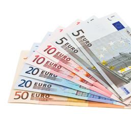 Banknoten, Geld als Fächer