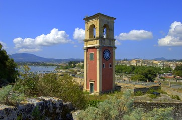 Clock/Bell Tower, Old Fortress, Corfu