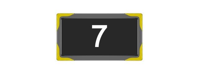 Nombre 7.08
