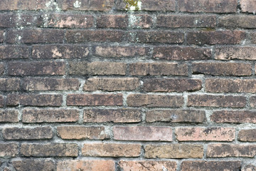 The Red Brick Wall Of A House