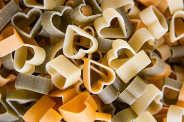 pasta shaped heart
