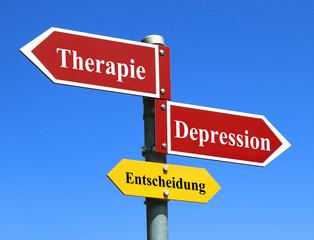 Depression oder Therapie dagegen?