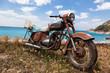 Motorrad am Strand - 41960337