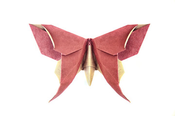 beautiful butterfly origami decorative paper sculpture