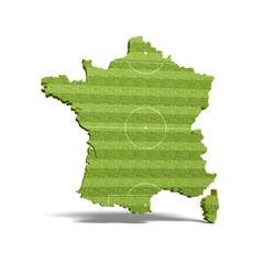 France - terrain de football