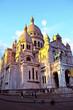 Paris. Sacre Coeur am Montmartre