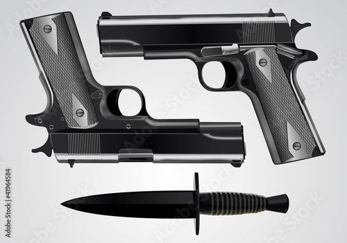 gun & dagger
