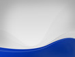 Light gray background Dizzy-HF, dark blue wave