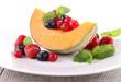 fresh healthy dessert