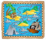 Treasure map theme image 3