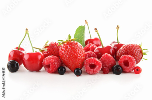 assorted of berry fruit