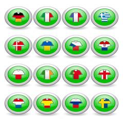 Teilnehmer Buttons grün
