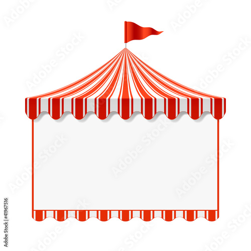 Circus advertisement background