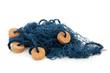 Blue fishing net - 41967969