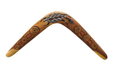 Australischer Bumerang aus Holz (wooden Boomerang)