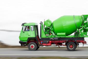 betoniera verde - panning