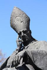 Stefan Wyszynski statue in Warsaw