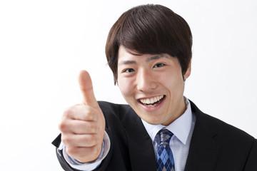 若いビジネスマン、成功
