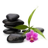 Fototapety Zen pebbles balance. Spa and healthcare concept.