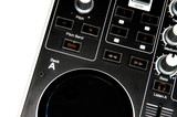 Dj controler close up