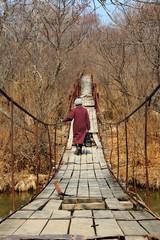 Old hanging bridge