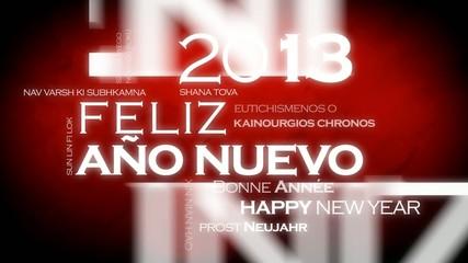 Feliz Año Nuevo 2013internacional traducción video