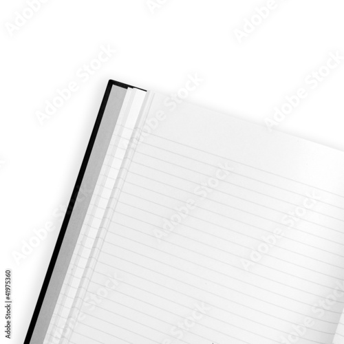 blank page white background