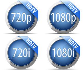 HDTV buttons