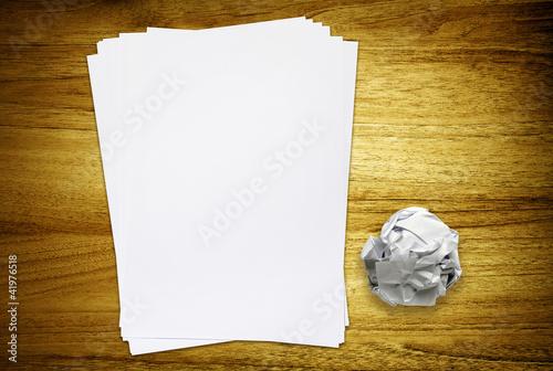 desk paper