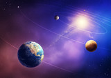 Fototapety Inner solar system planets