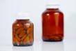 Detaily fotografie Medicine bottles