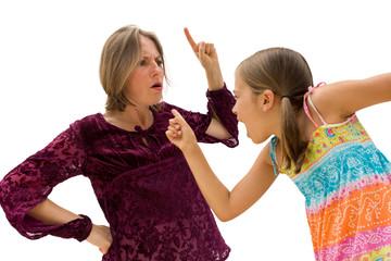 conflit mère fille