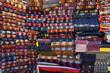 Boutique de tissus au Grand Bazar - Istambul, Turquie
