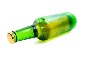 Sweaty bottle of beer