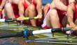 Beinkraft beim Rudersport