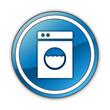 "Glossy Button ""Laundromat"""