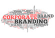 "Word Cloud ""Corporate Branding"""