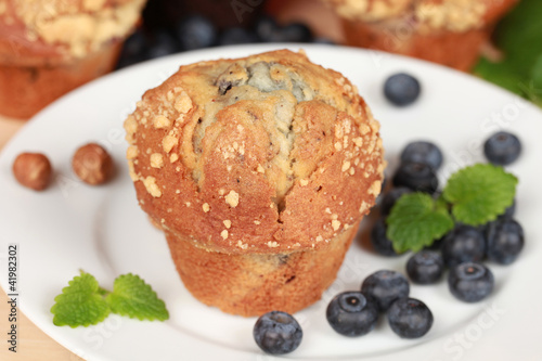 Blaubeer-Muffins
