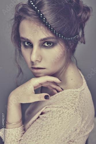 image of a beautiful luxurious woman - 41982357