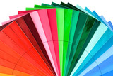Color Swatch Fan Cutout