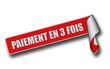 Band Sticker rot rore II PAIEMENT EN 3 FOIS