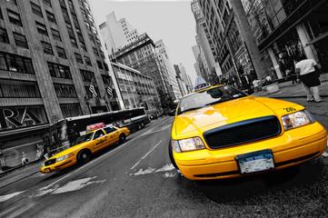 Fototapeta Żółta taksówka Nowy York