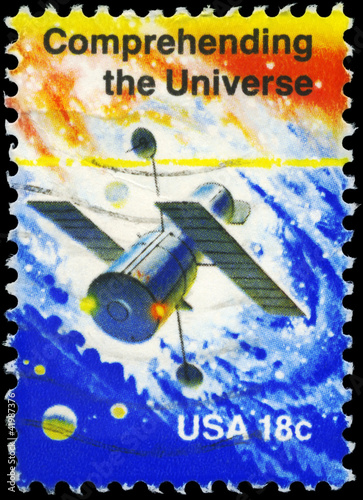 USA - CIRCA 1981 Comprehending the Universe