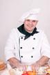 chef in uniform
